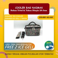 COOLER BAG NAIMAX - CANNES MINI BLACK / TAS ASI COOLER BAG NAIMAX