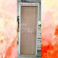 Pintu Astro Premium Panel 2 Kotak Mocca