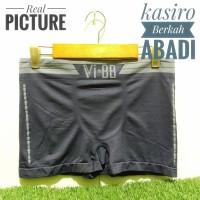 Celana Dalam Boxer Pria Vi&BB Import / Seamless Rajut Original