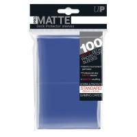 Ultra-PRO 100ct Pro-Matte Blue Standard Deck Protectors
