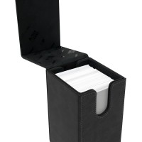 Ultra-PRO Suede Collection Alcove Tower Jet Deck Box