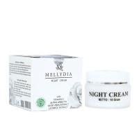 Menghilangkan Kerutan dan Garis Halus-Mellydia Night Cream