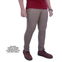 Dgm_Fashion1 Celana Chino Polos Cream Panjang/Celana Panjang Chinos 58