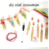 Zoetoys DIY Olaf Snowman | mainan edukasi | mainan anak | edutoys