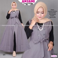 anjani long outer by cantique