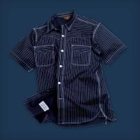 Oldblue Work Shirt Type IX - 8 Oz Indigo Wabash