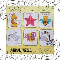 mainan bayi PAKET ANIMAL PUZZLE PAKET SHAPE PUZZLE -