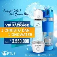 CHRISTO Hidrogen air alami plus air ALKALI