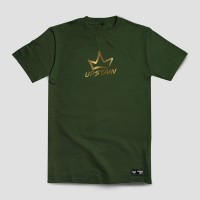 Baju Distro Desain Gold Merek Upstain Wear