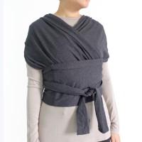 Maison Elmesa Quick Wrap Gendongan Bayi - Dark Grey