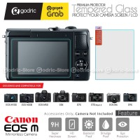 Canon EOS M200 M100 M6 LCD Tempered Glass Screen Protector Anti Gores