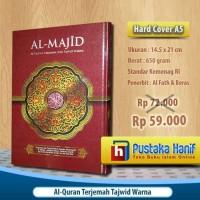 Al-Quran Al-Majid A5 AlQuran Terjemah dan Tajwid Warna