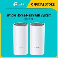 ORIGINAL Tplink Deco E4 (2pcs / pack) Whole Home Mesh Wifi System