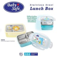 BabySafe Stainless Lunch Box Square