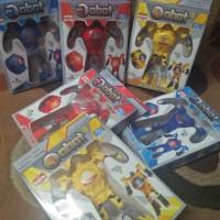 Jam Tangan Anak Robot Tobot Transformer