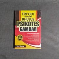 Buku Try Out Lengkap Khusus Psikotes Gambar