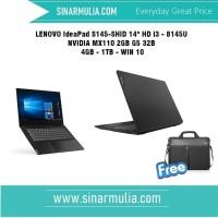 LENOVO IdeaPad S145-SHID i3 - 8145U-NVIDIA MX110 2GB G5 32B - 4GB-1TB