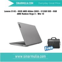Lenovo S145 - 60ID AMD Athlon 300U -512GB SSD-8GB-AMD Radeon Vega 3