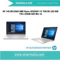 HP 14S-DK0126AU AMD Ryzen 3-3200U 1TB+256GB SSD - 8GB - Win 10