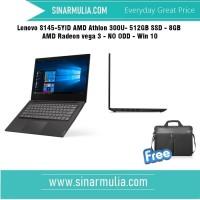 Lenovo S145-5YID AMD Athlon 300U- 512GB SSD- 8GB - AMD Radeon vega 3