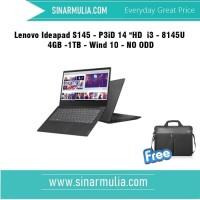 Lenovo Ideapad S145 -14iWL - P3iD - i3 - 8145U - 4GB -1TB - Wind 10