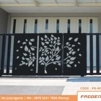 Jual Pagar Rumah Minimalis | Pagar Laser Cutting | Pagar Minimalis | Pagar  - Kota Surabaya - ProgenioShop | Tokopedia