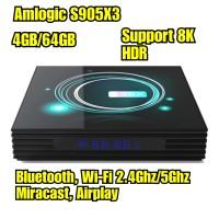Android TV Box A95X F3 Slim S905X3 4GB/64GB 4K HDR Wifi Bluetooth