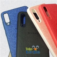 Samsung A70 case logo jeans denim fabric premium
