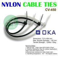 Kabel Ties CV-450 Cable Ties CV450 Pengikat Kabel 45cm 100pcs