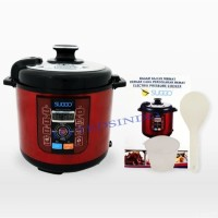 SUGGO Electric Pressure Cooker Multi Fungsi 6 Liter
