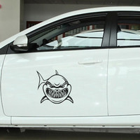 Sticker Decal Mobil Cutting Vinyl Ikan Hiu