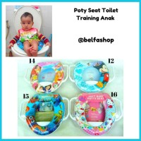 Soft Baby Potty Seat / Alas Dudukan Closet / Toilet Training Anak