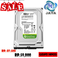Hardisk / HDD PC 160GB Sata WD GREEN - Garansi 1 Minggu