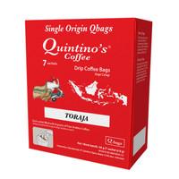 Quintino's 7 sachet Single origin Toraja