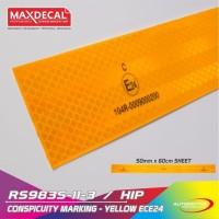 MAX DECAL REFLEKTOR TAPE RS983 5CM SYARAT KIR DISHUB PEMANTUL CAHAYA