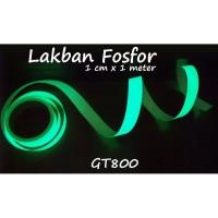 Stiker Fosfor Glow In The Dark uk 1 cm x 120 cm
