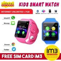 Lumin A1 KIDS WATCH U10 Smart Bluetooth GSM Jam Tangan