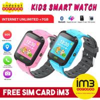 Dennos W21 Smart Kids Watch FREE SIM CARD Jam Anak LBS Camera 2G GSM