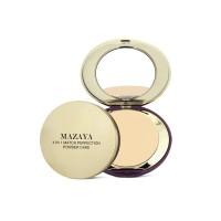 Mazaya Match Perfection 4 in 1 Powder Cake Whitening Ivory 16gr