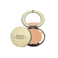 Mazaya Match Perfection 4 in 1 Powder Cake Whitening Beige 16gr