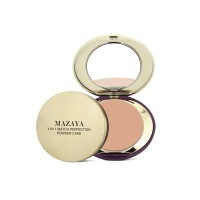 Mazaya Match Perfection 4 in 1 Powder Cake Whitening Soft Beige 16gr