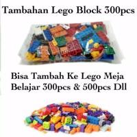 mainan Lego Block tambahan 300pcs
