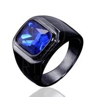 Cincin Pria - KNIGHT BLUE *GLOSSY*