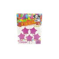 Balon Foil Huruf 1 Set Bintang