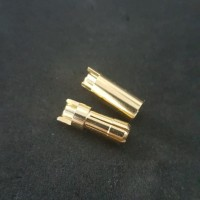 Amass 5.5 mm bullet banana gold 5.5 mm 5.5mm connector