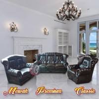 Sofa Ruang Tamu Mewah Jaguar ALBERTA Berkesan Megah - Premium - KlasiK