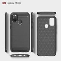 Case IPAKY Samsung M30S Carbon Softshell cover case ipaky