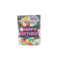 Balon Foil Huruf 1 Set HAPPY BIRTHDAY