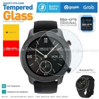 SIKAI Tempered Glass Anti Gores Screen Guard for Amazfit GTR 42mm
