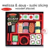 Zoetoys Melissa & Doug - Sushi Slicing Wooden Playset | mainan edukasi